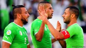 Das algerische Team; Foto: dpa/picture-alliance