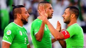 Das algerische Team; Foto: dpa/picture-alliance