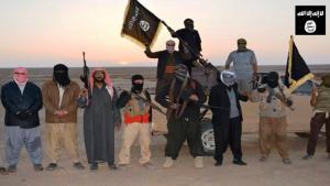 Einheiten der ISIS in Ninive; Foto: AFP