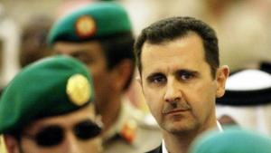 Syriens Präsident Baschar al-Assad; Foto: Hassan Ammar/AFP/Getty Images