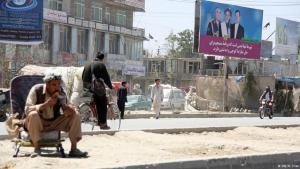 Straße in Kabul; Foto: DW