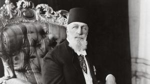 Porträt des letzten osmanischen Kalifen Abdulmecid II; Foto: Library of Congress