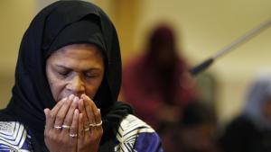 Amina Wadud; Foto: Adrian Dennis/AFP/Getty Images