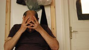 Verzweiflung - oft sind Traumaopfer in arabischen Ländern mit ihren Problemen auf sich allein gestellt; Foto: Iris Mostegel