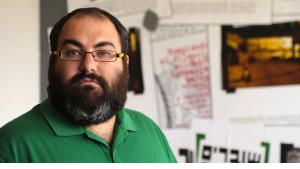 """Yehuda Shaul, Mitbegründer von """"Breaking the Silence""""; Foto: Quique Kierszenbaum"""