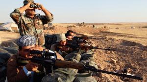 Peschmerga-Kämpfer im Irak; Foto: Reuters