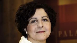 Die Autorin Emel Zeynelabidin; Foto: picture-alliance/dpa