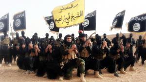 """Propagandabild der Miliz """"Islamischer Staat im irak und der Levante""""; Foto: dpa/ABACAPRESS.COM"""