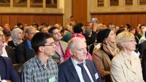 Teilnehmerinnern und Teilnehmer des Islamischen Theologenkongresses 2014; Foto: Institut für Studien der Kultur und Religion des Islam/Goethe-Universität Frankfurt