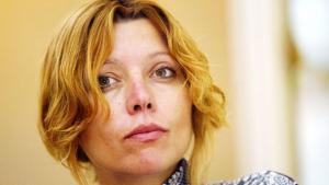 Die türkische Schriftstellerin Elif Shafak; Foto: AP