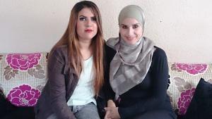 Nadia und Rabia Bechari; Foto: Canan Topçu