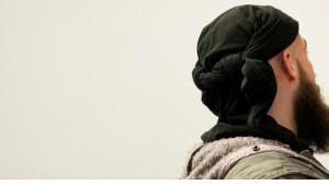 Deutscher Salafist; Foto: dpa/picture-alliance