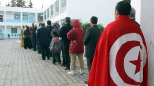 Symbolbild Tunesien Parlamentswahl; Foto: picture-alliance/dpa