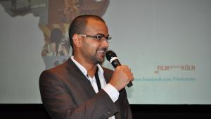 Der tunesische Dokumentarfilmer Sami Tlili; Foto: Filminitiativ Köln e.V.