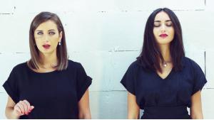 Rihan (links) und Faia Younan; Foto: Youtube