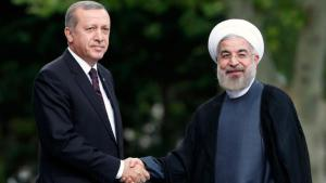 Der türkische Staatspräsident Recep Tayyip Erdogan (links) empfängt Irans Präsidenten Hassan Rohani zu einem Treffen in Ankara am 9. Juni 2014; Foto: Reuters