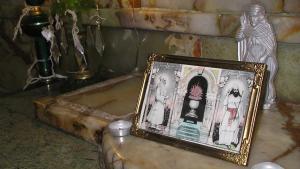 Bilder Zarathustras in einem zororastrischen Gotteshaus in Teheran; Foto: Arian Fariborz