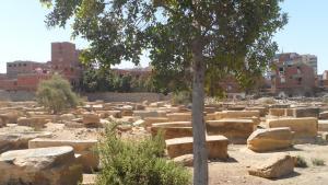 Der jüdische Friedhof im Süden Kairos, Ägypten; Foto: DW/W. El Attar