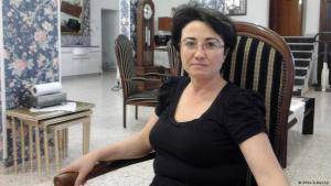 Die Knesset-Abgeordnete Hanin Soabi; Foto: Ulrike Schleicher