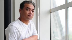 Regimekritiker Ilham Tohti, Foto: picture-alliance/Frederic J. Brown/afp/dpa