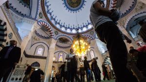 Die islamische Şehitlik-Moschee in Neukölln; Foto: picture-alliance/dpa/Paul Zinken