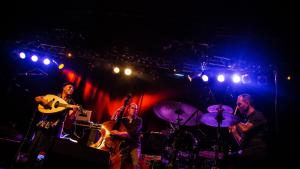 Dhafer Youssef Band auf dem Morgenland Festival Osnabrück am 21.9.2014; Quelle: Morgenland Festival Osnabrück