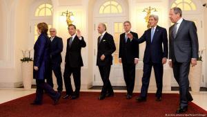 Treffen der Vertreter der 5+1-Gruppe und Irans zu den Atomgesprächen in Wien am 24.11.2014; Foto: dpa/picture-alliance