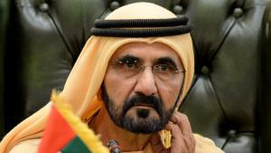 Mohammed bin Rashid Al Maktoum, Vizepräsident und Premierminister der Vereinigten Arabischen Emirate; Foto: picture alliance/Photoshot
