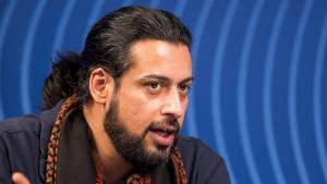Der irakische Schriftsteller Abbas Khider; Foto: imago