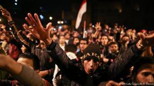 Proteste gegen den Freispruch Mubaraks auf dem Tahrir-Platz in Kairo; Foto: AFP/Getty Images
