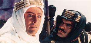Peter O'Toole und Omar Sharif in dem Film ''Lawrence von Arabien'' aus dem Jahr 1962; Foto: dpa