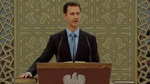 Syriens Präsident Baschar al-Assad; Foto: Reuters/Syria TV