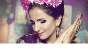Die libanesische Sängerin Tania Saleh; Quelle: taniasaleh.com