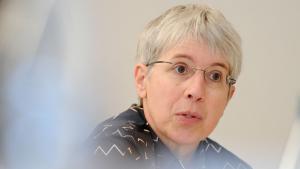 Prof. Dr. Gudrun Krämer, Orientalistin und Islamwissenschaftlerin an der Freien Universität Berlin; Foto: picture-alliance/dpa/J. Stratenschulte