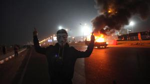 Fußball-Krawallen in Kairo am 08.02.2015; Foto: STR/AFP/Getty Images