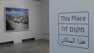 """Ausstellungsansicht """"This Place""""; Foto: Felix Koltermann"""
