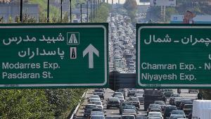Stau in Teheran; Foto: MEHR