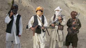 Taliban in der Provinz Helmand; Foto: dpa/picture-alliance