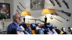 Der libanesische Drusenführer Walid Dschumblat; Foto: dpa