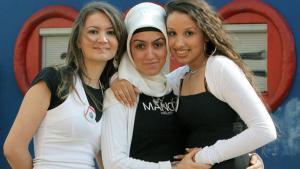 Junge muslimische Frauen; Foto: dpa/picture-alliance