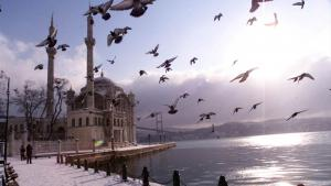 Die Ortaköy-Moschee in Istanbul soll als Vorlage für die Moschee auf Kuba dienen; Foto: AP