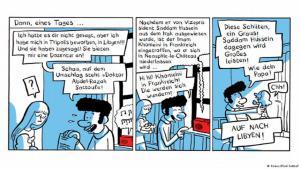 """Auszug aus dem Comic """"Der Araber von morgen""""; Foto: Knaus/Riad Sattouf"""