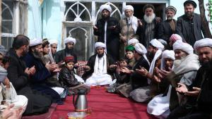 Afghanische Sufis beim Gebet, Foto: picture-alliance/AP Photo/Masso
