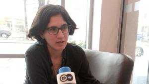 Die  israelische Filmemacherin Mor Loushy; Foto: DW