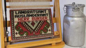Ausstellungsstück Depot Migrationsmuseum des Vereins DOMiD; Foto: DW/S. Dege