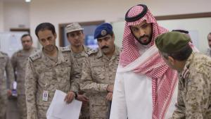 Saudischer Verteidigungsminister Mohammad bin Salman; Foto: Reuters/Saudi Press Agency