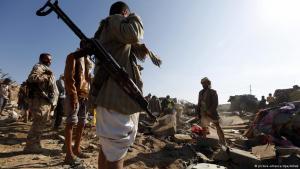 Kämpfe im Jemen; Foto: picture-alliance/dpa/Arhab
