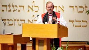 Bischof John Bryson Chane; Quelle: picture-alliance/dpa/Ron Sachs