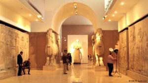 Irakisches Nationalmuseum wiedereröffnet. Foto: DW