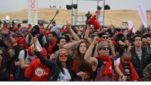 """Elektro-Festival """"Les Dunes Electroniques"""" in Tunesien; Foto: Jannis Hagmann"""